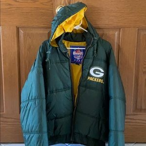 NFL Green Bay Packers jacket size L